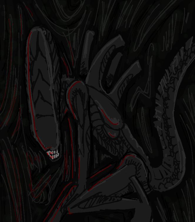 1 hour xeno doodle